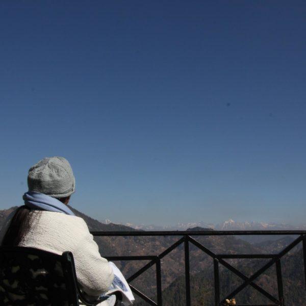 Sri Guru in Himalayas